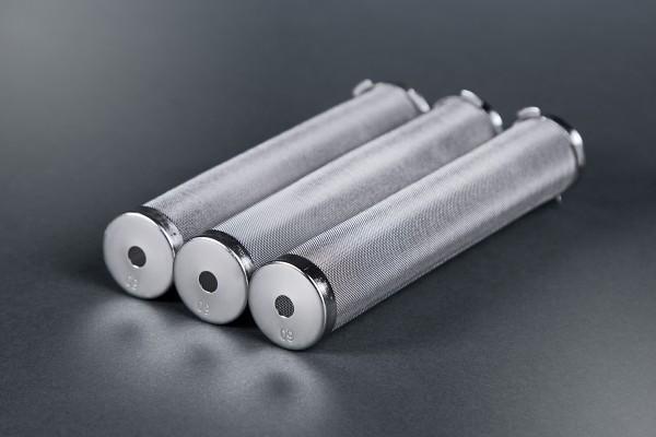 3 Stück Hauptfilter aus Metall für Graco Airlessgeräte, Ø 27 mm, Höhe 144 mm