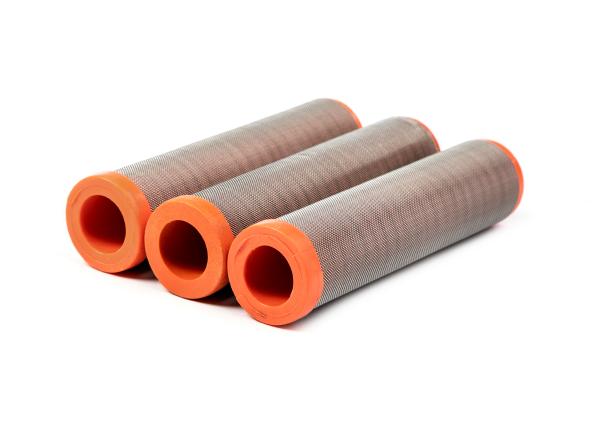 3 Stück Hauptfilter 50 Maschen orange passend für WIWA Ø 36,4 mm Höhe 121 mm