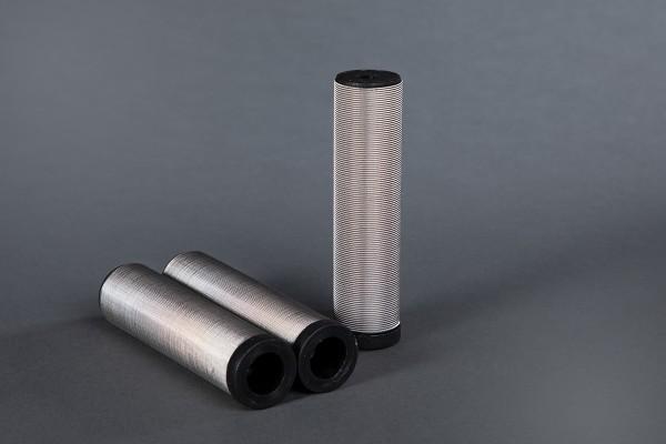 3 Stück Hauptfilter 100 Maschen schwarz passend für WIWA Ø 36,4 mm Höhe 121 mm