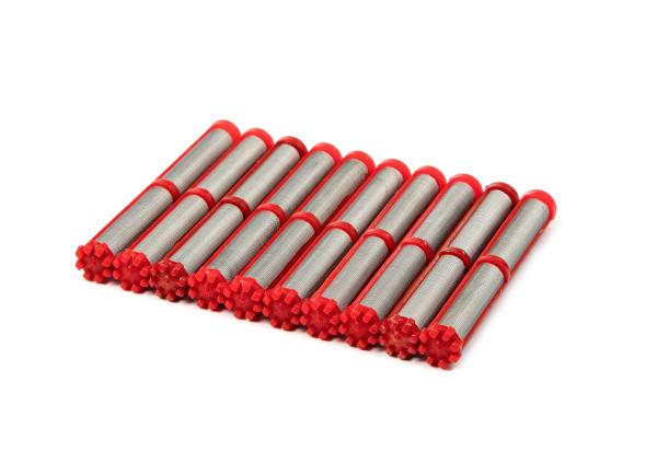 Airless Einsteckfilter 10 Stück 200 Maschen rot passend für AirCoat Wagner GM 4700