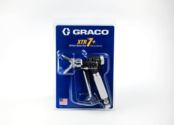 Graco Airless-Pistole XTR-7+, 500 bar mit Düsenhalter XHD ohne Düse