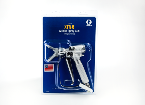 Graco Airless-Pistole XTR-5 345 bar mit Düsenhalter XHD