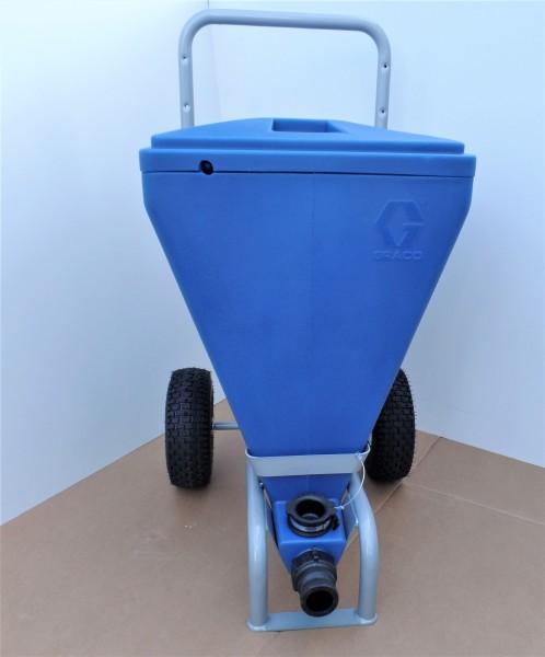 Graco Spachtelbehälter 90 Liter für Farbe und Spachtel - Neu Texture Hopper Materialbehälter
