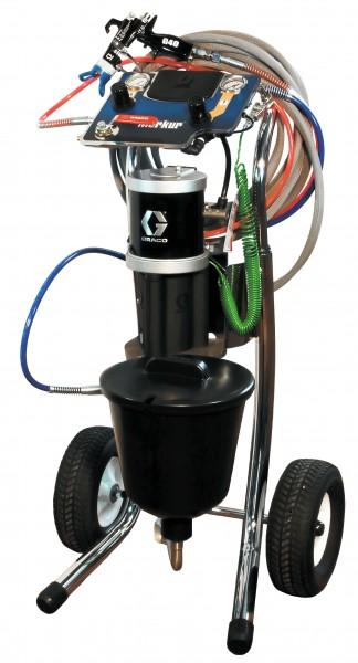"Graco Merkur Airless Spritzgerät 30:1 / 25 ccm Air Combi-Ausführung mit 5 Literbehälter "" Neugerät"""
