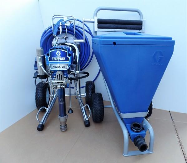 """Graco Mark VII Max ProContractor mit 90 Liter Behälter und Sackpresse """"Neugerät mit Werksgarantie"""""""