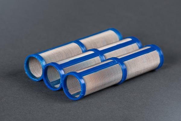 3 Stück Hauptfilter kurz 100 Maschen Ø 20 mm, Höhe 91 mm, für Graco ST MAX 395, 495 und 595 Airless