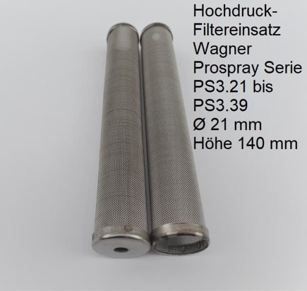 3x Hauptfilter aus Metall passend für Wagner ProSpray Serie PS 3.21 bis PS 3.39