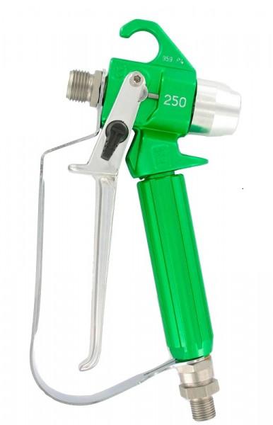 """Airless-Pistole AG250 grün Düsenhalteranschluss 11/16"""" Materialanschluss 1/4"""" NPS"""