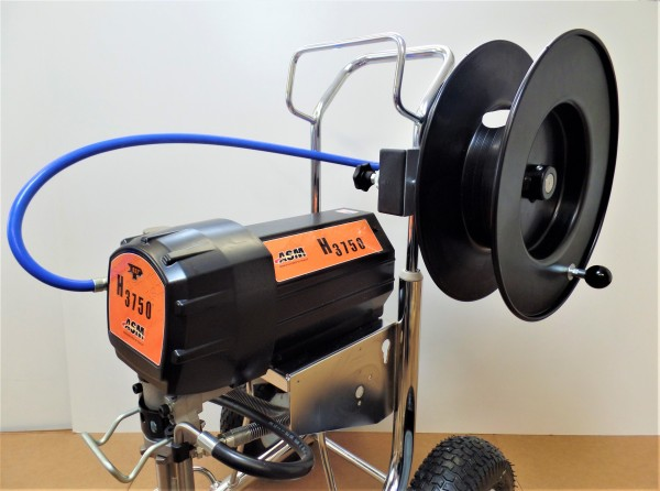 Airless Schlauchaufroller nachrüstbar mit 1 Meter Verbindungsschlauch