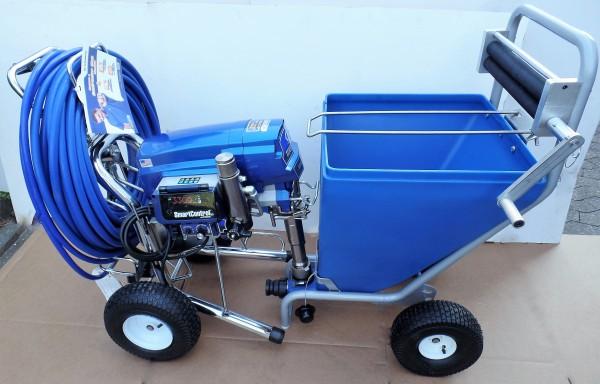 Graco Mark X ProContractor mit 90 Liter Behälter und Sackpresse Neugerät mit Werksgarantie