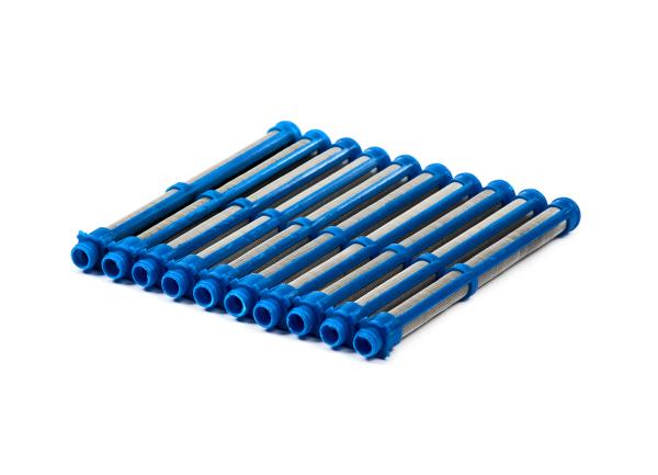 Airless Einsteckfilter 10 Stück blau, 100 Maschen, passend für Graco