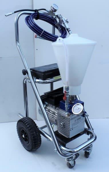 Verpressgerät Membranpumpe elektrisch für Rissverpressung auf Wagen