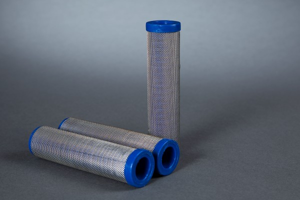 3 Stück Hauptfilter 30 Maschen blau passend für WIWA Ø 36,4 mm Höhe 121 mm