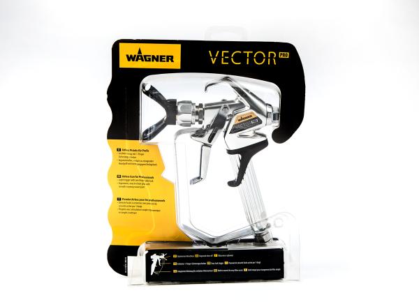 Wagner Airless-Pistole VECTOR Pro 4-Fingerabzug ohne Düse