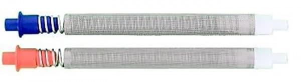 Airless Einsteckfilter 10 Stück für Graco Pistole blau 50 Maschen