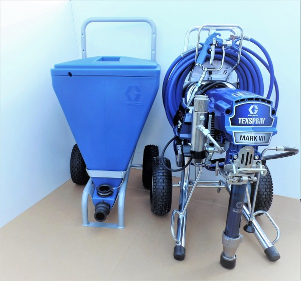 Graco Mark VII Max Procontractor mit 90 Liter Behälter - 17E667