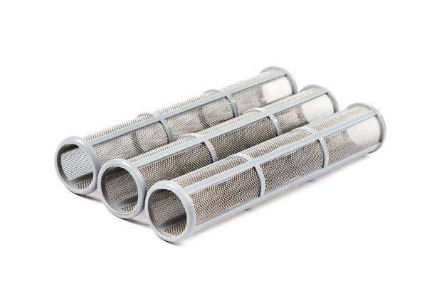 3 Stück Hauptfilter lang 30 Machen grau für Graco Airlessgeräte Ø 31 mm, Höhe 180 mm
