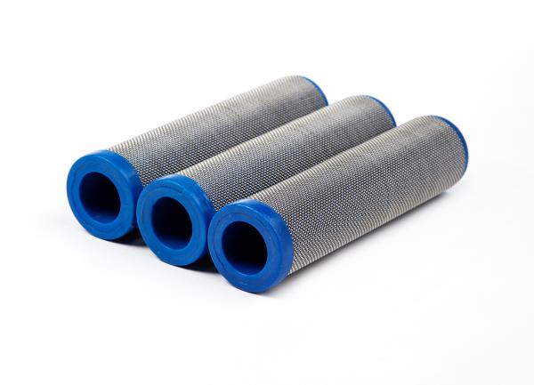 3 Stück Hauptfilter, 30 Maschen blau für WIWA, Hübner, ITW, Ø 33,5 mm Höhe 130 mm