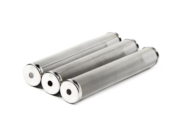 3x Hauptfilter aus Metall, passt für Wagner Ø 27 mm Höhe 144 mm