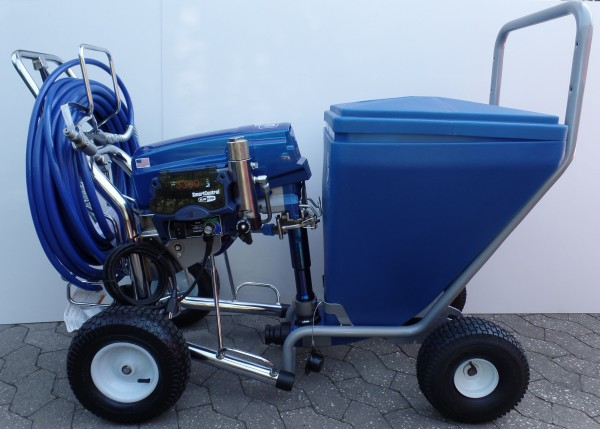 Graco Mark X Max Procontractor plus 90 Liter Behälter - 17E671