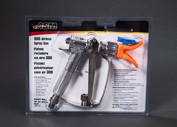 "Airless-Pistole 250 bar Made by Graco Anschluss 1/4"" oder M16 Normalstahl"