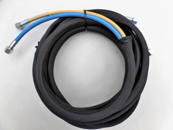 """Airless Doppelschlauch 7,5m NW3 Hochflexibel Materialanschluss ¼"""" NPS Luftanschluss ¼"""" 250 bar"""